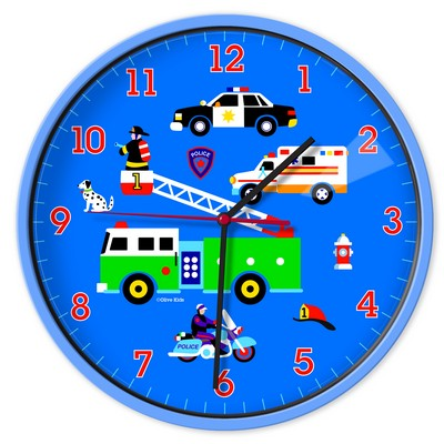 Olive Kids Olive Kids Heroes Wall Clock Blue Search Results