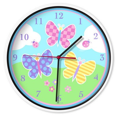 Olive Kids Olive Kids Butterfly Garden Wall Clock Blue Search Results