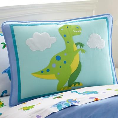 Olive Kids Olive Kids Dinosaur Land Pillow Sham Blue Search Results