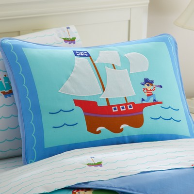 Olive Kids Olive Kids Pirates Pillow Sham Blue Search Results