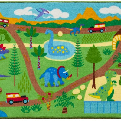 Olive Kids Olive Kids Dinosaur Land Play Rug Green Search Results