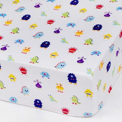 Olive Kids Olive Kids Monsters Fitted Crib Sheet Blue Search Results