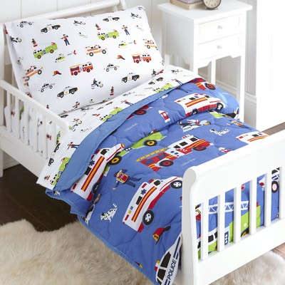 Olive Kids Olive Kids Heroes 4 pc Bed in a Bag - Toddler Blue Search Results