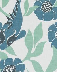 Duralee LE42553 250 SEA GREEN Fabric