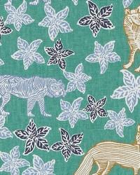 Duralee LE42613 72 BLUE GREEN Fabric