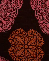 Duralee 72080 703 Pink/brown Fabric