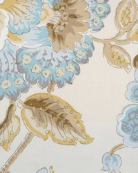 Duralee 72085 50 Natural/blue Fabric