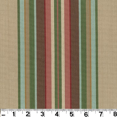 Roth and Tompkins Textiles Carlton Stripe LINEN Roth and Tompkins Fabrics