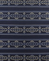 Ralph Lauren Arrowhead Stripe Blanke Night Sky Fabric