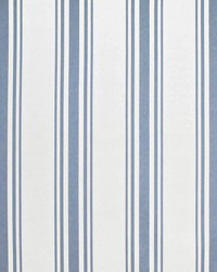 Ralph Lauren Flying Point Stripe Sky Fabric