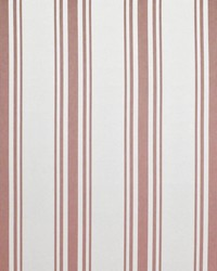 Ralph Lauren Flying Point Stripe Sunbaked Red Fabric