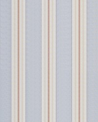 Ralph Lauren Gin Beach Ticking Red/blue Fabric