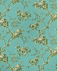 Ralph Lauren Ashfield Twill Flora Mist Fabric