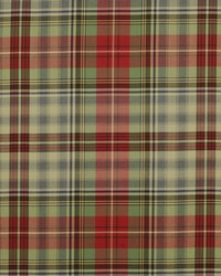 Ralph Lauren Glasglow Tartan Vintage Red Fabric
