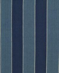 Ralph Lauren Nikko Stripe Indigo Fabric