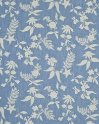 Ralph Lauren Flores Damask Delft Fabric