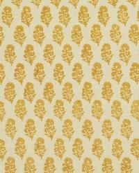 Ralph Lauren Allie Blockprint Goldenrod Fabric