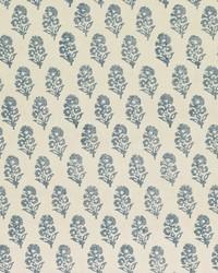 Ralph Lauren Allie Blockprint Chambray Fabric