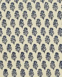 Ralph Lauren Allie Blockprint Porcelain Fabric