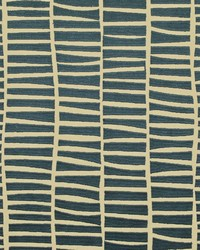 Ralph Lauren Luo Embroidery Vintage Blue Fabric