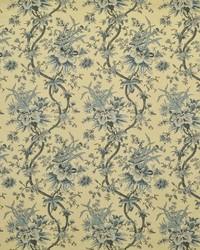 Ralph Lauren Yarmouth Floral Slate Blue Fabric