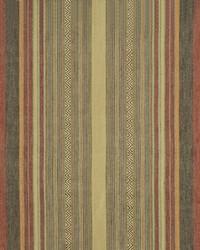 Ralph Lauren New Blue Mesa Stripe Clay Fabric