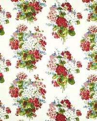 Ralph Lauren Geranium Floral Summer Fabric