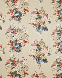 Ralph Lauren Geranium Floral Old Glory Fabric
