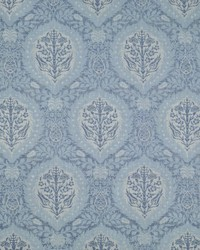 Ralph Lauren Hamilton Damask Chambray Fabric