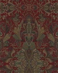 Ralph Lauren New Lakota Paisley Canterbury Red Fabric