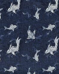 Ralph Lauren Pebble Cove Indigo Fabric