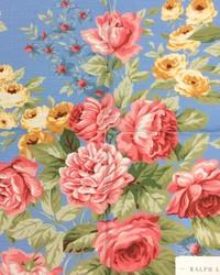Ralph Lauren New Garden Harbor Floral Sky Fabric