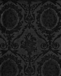 Ralph Lauren Abbeywood Velvet Damask Onyx Fabric