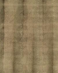 Ralph Lauren Pompon Embossed Croc Burnt Umber Fabric