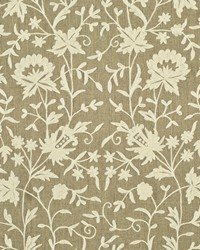 Ralph Lauren Ames Cove Embroidery Antique Ivory Fabric