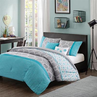 Hampton Hill Clara 5 Piece Comforter Set Blue Search Results