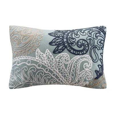 Hampton Hill Kiran Embroidered Oblong Pillow Blue Search Results