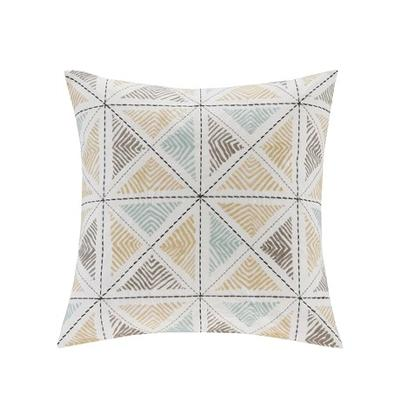 Hampton Hill Zelda Embroidered Square Pillow Blue Search Results
