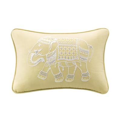 Hampton Hill Zahira Embroidered Oblong Pillow Yellow Search Results