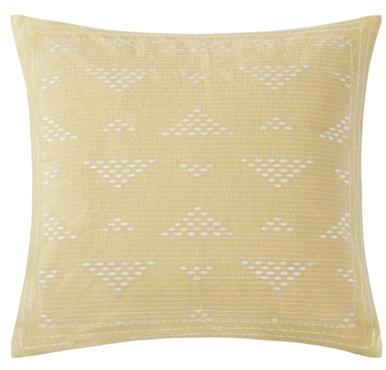 Hampton Hill Cario Embroidered Square Pillow Yellow Search Results