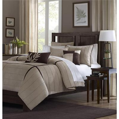 Hampton Hill Madison Park Dune Comforter Set Beige Search Results