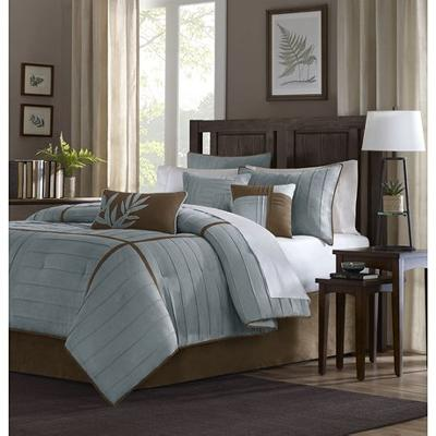 Hampton Hill Madison Park Connell Comforter Set Blue Search Results
