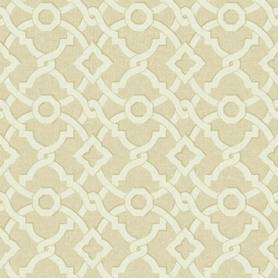 Waverly Wallpaper Global Chic Artistic Twist Wallpaper beige, cream Ethnic and Global