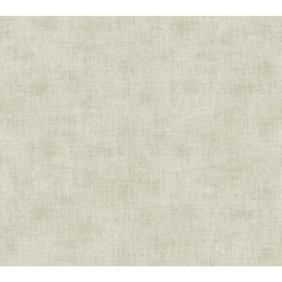 Waverly Wallpaper Global Chic Texture Broken Linen Wallpaper cream, grey Ethnic and Global