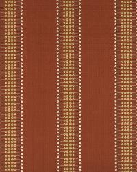 Robert Allen Hammer Stripe Cayenne Fabric