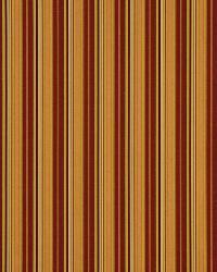 Robert Allen Abby Stripe Russet Fabric