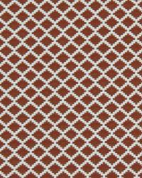 Robert Allen Step Trellis Scarlet Fabric