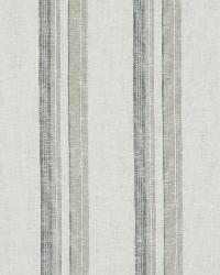 Robert Allen Abigail Stripe Graphite Fabric