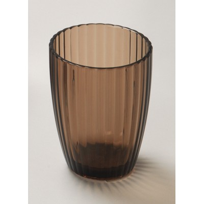 Carnation Home Fashions  Inc Brown Rib-Textured Tumbler Brown Search Results