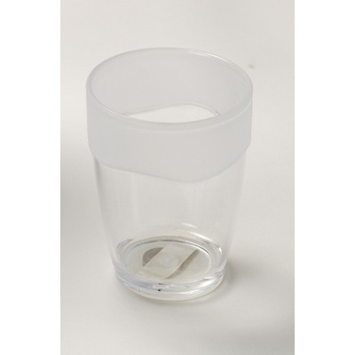 Carnation Home Fashions  Inc Clear with Frosted Trim Rib-Textured Tumbler Frosted Clear Search Results